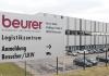 Beurer Logistikzentrum feiert Jubiläum