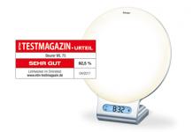 """""""Sehr gut"""" für Beurer Lichtwecker WL 75"""