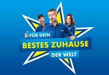 """Bild: Euronics Keyvisual """"Für dein bestes Zuhause der Welt"""""""