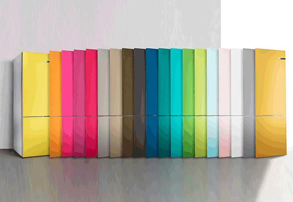 Kühlschrank Farbig Bosch : Bosch präsentiert zur ifa wechselbare kühlschrankfronten ce electro