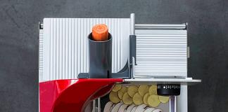 Der Mini Slice Aufsatz ergänzt die Allesschneider von Graef