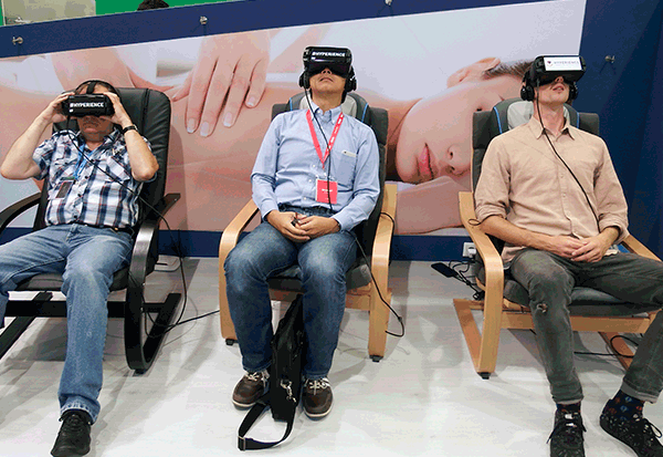 Medisana: Massagen mit Virtual Reality Experiences