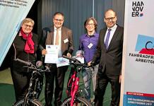 """Wertgarantie Group ist erneut """"Fahrradfreundlichster Arbeitgeber"""""""