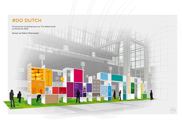 """Ambiente-Partnerlandpräsentation """"Do Dutch"""" von Designer Robert Bronwasser"""