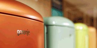 Die Farbpalette der Gorenje Retro Collection macht die Küche zum Highlight