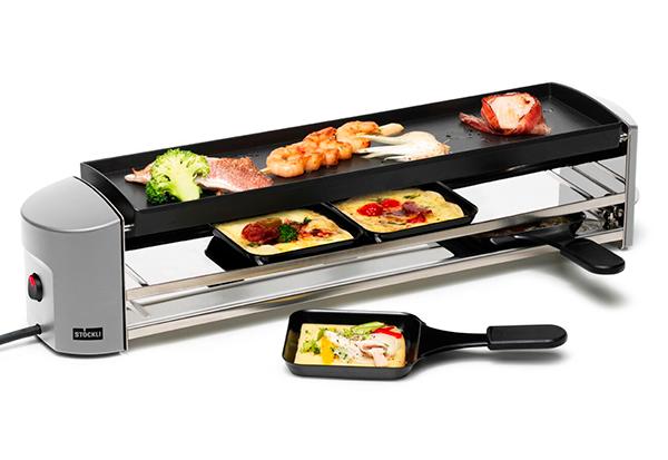 Stöckli Raclette raclette und grill cheeseboard stöckli im look ce electro