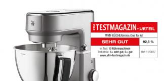 """""""Sehr gute"""" Testergebnisse für WMF-Geräte im ETM Testmagazin"""