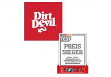 Dirt Devil erneut Preis-Sieger Silber bei Focus Money Deutschlandtest 2017