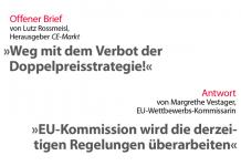 Offener Brief-Antwort EU