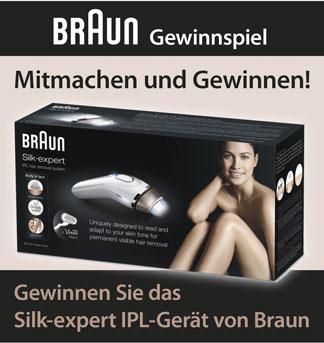 Gewinnspiel Braun silkexpert