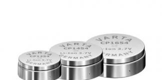 Passende Energiespender für Wearables von Varta Microbattery