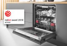 Einbaugeschirrspüler von Bauknecht erhalten renommierten Red Dot Award 2018
