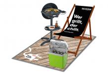 Vermarktungskampagne Severin zur Grillsaison