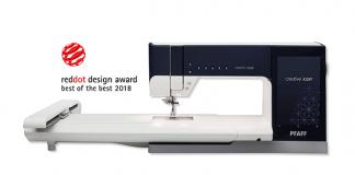 """Red Dot Award """"Best of the Best"""" für Pfaff Näh- und Stickmaschine"""