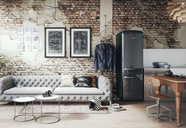 Cooler Look mit Gorenje