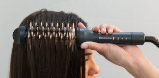 Remington Haarbürste, Haarglätter und Lockenstab in einem Produkt