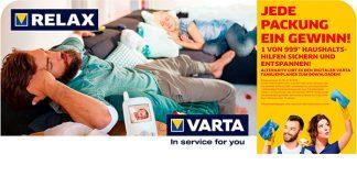 Aktuelle POS-Kampagne von Varta