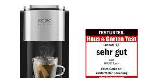 Turbo Heißwasserspender von Caso Design im Härtetest