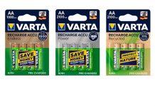 Die neuen Varta Recharge Accu Endless sind langlebig und leistungsstark