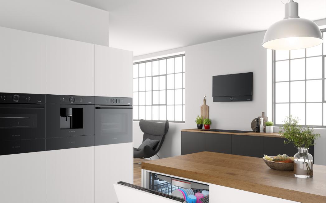 Bosch Stellt Hausgerate Portfolio Accent Line Carbon Black Vor Ce