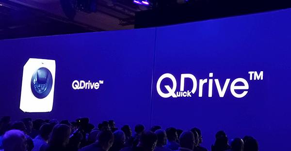 Eine neue Art zu waschen verspricht Samsung mit QDrive