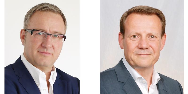 Jochen Mauch (links) und Thomas Jacob (rechts)