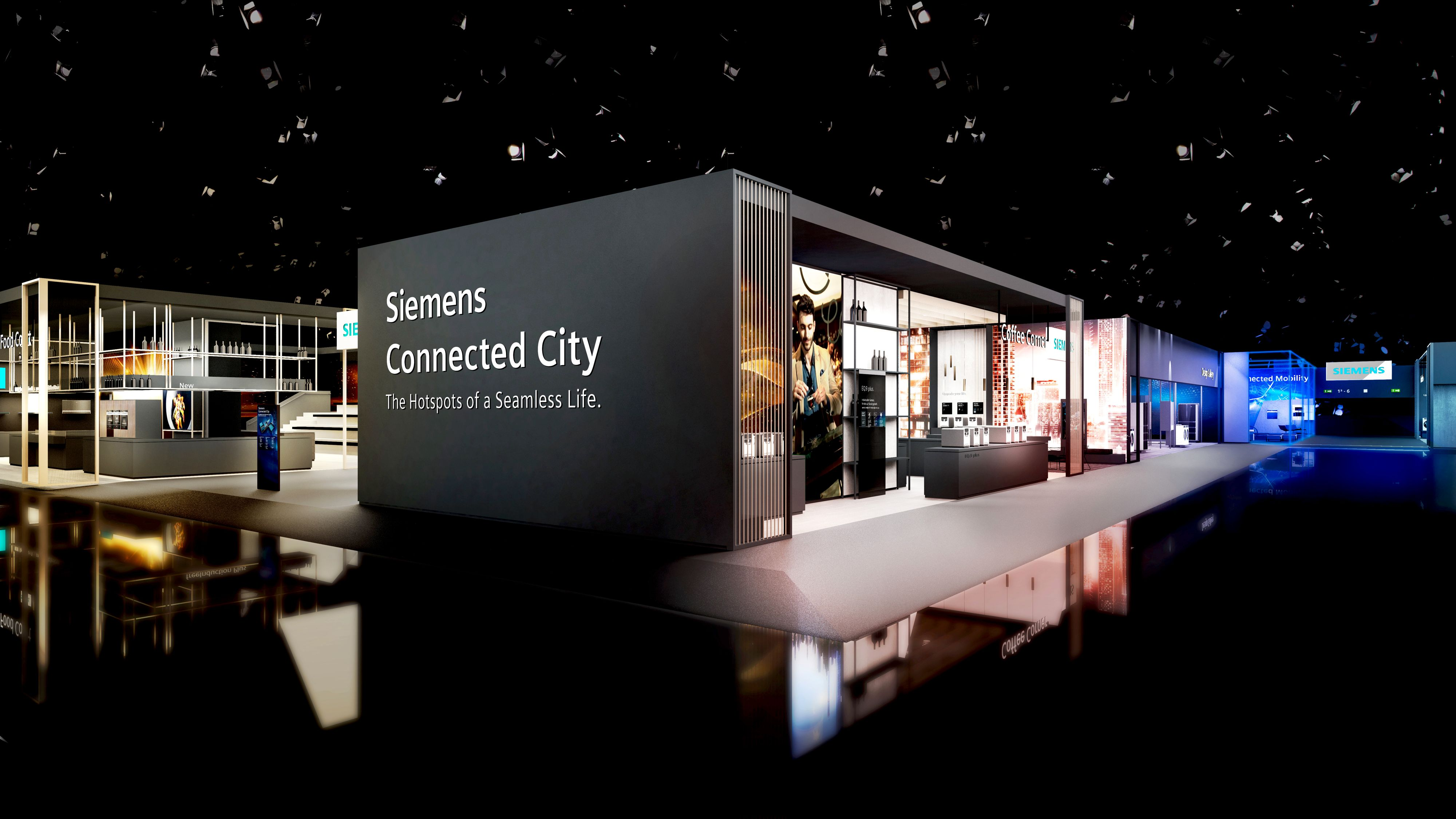 Siemens Kühlschrank Home Connect Einrichten : Siemens auf der ifa kaffeegenuss mit vollautomat eq plus ce