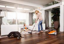 Thomas Aqua+-Technologie unterstützt Haushalte mit Haustieren und Allergikern durch Hybrid Cycloon Technologie. Foto: Thomas