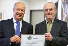 Wertgarantie Thomas Schröder und Dieter Brübach von B.A.U.M.