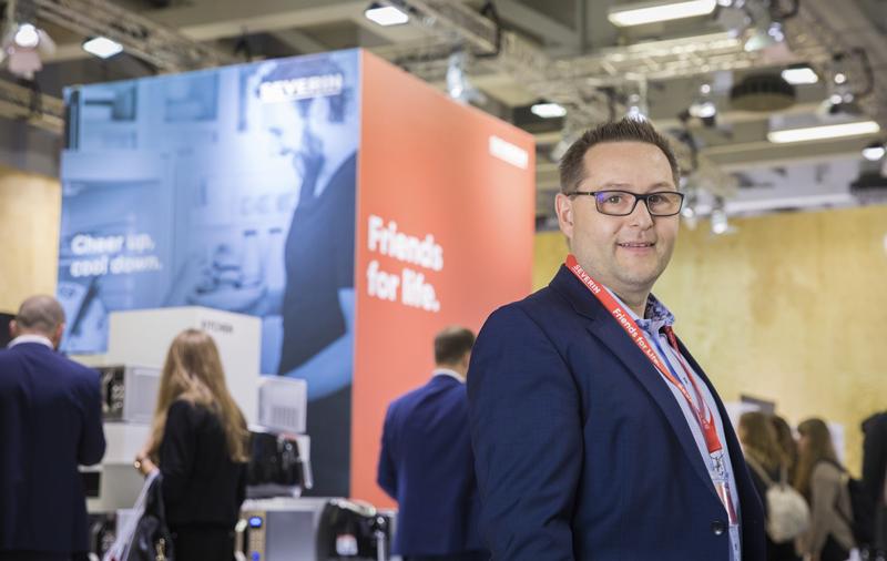 Christian Strebl, Geschäftsführer Severin Elektrogeräte GmbH