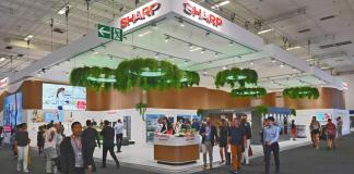 Sharp: IFA-Auftritt in Halle 9