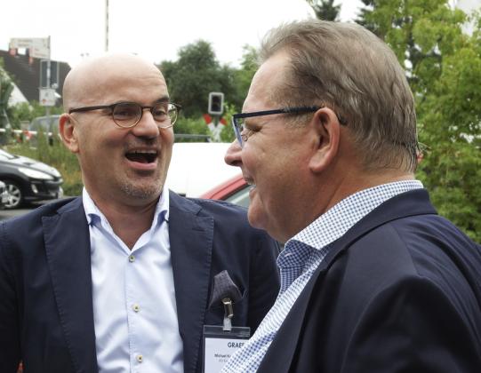 Michael Kapalla und Helmut Geltner