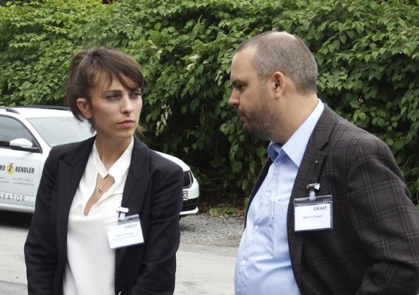 Milica Kekovic und Ralf von Dissen