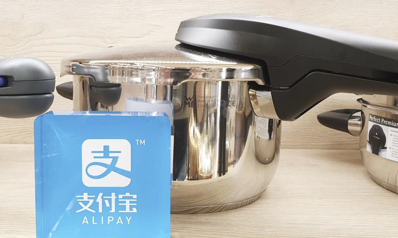 Alipay für chinesische Kunden