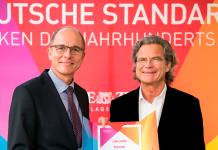 Georg Walkenbach (links), Dr. Florian Langenscheidt (rechts)