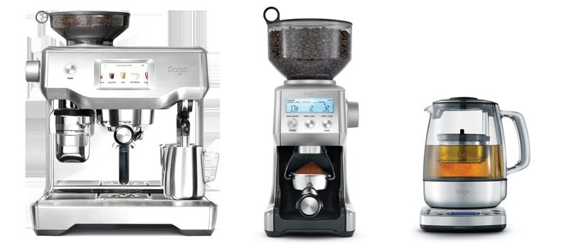 Sage Oracle Touch, Smart Grinder Pro, Tea Maker