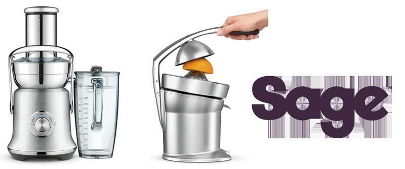 Sage Nutri Juicer Cold XL und Citrus Press Pro