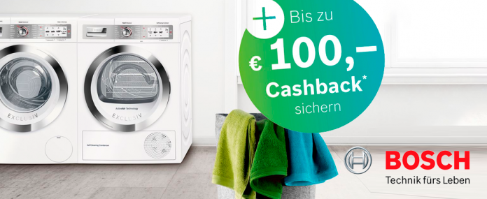 Bosch Cashback-Aktion