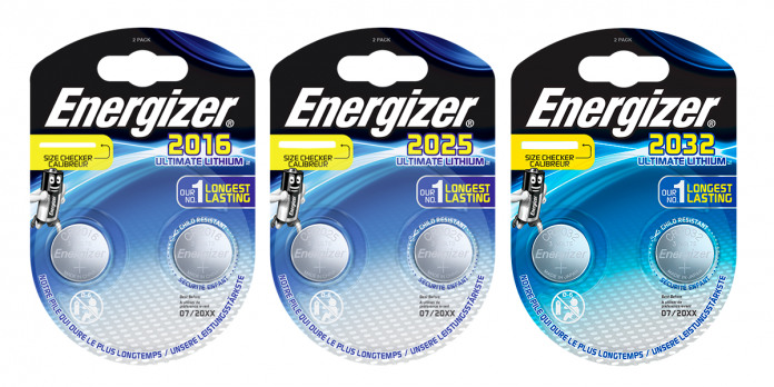 Energizer Ultimate Lithium-Knopfzellen