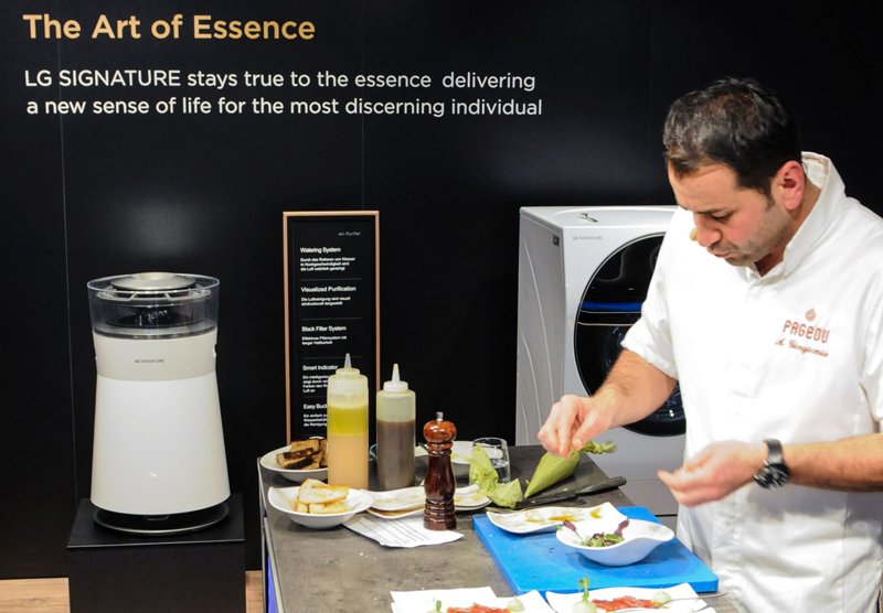 LG Signature Live-Cooking-Show
