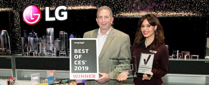 LG Auszeichnung CES 2019