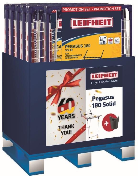 Leifheit 60 Jahre Promotion Pegasus 180
