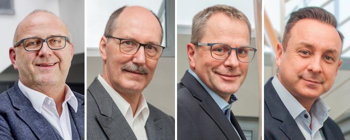 Gerald Berchtenbreiter, Martin Leske, Thomas Hintz, Sven Buschmann
