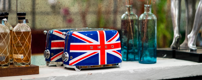 Smeg Toaster im Union-Jack-Design