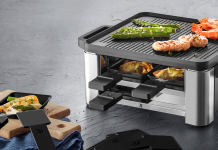 WMF Lono Raclette für 4 Personen