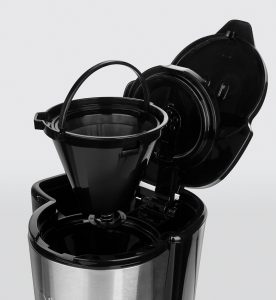 Compact Home Mini-Glas-Kaffeemaschine. Foto: Russel Hobbs