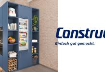 Einbaugeräte von Constructa überzeugen mit innovativer Technik und modernem Design