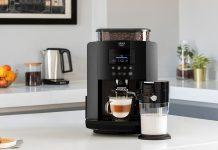 Richtig guter Kaffee von Krups mit perfektem Milchschaum