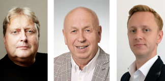 Peter Krendl, Franz Gruber und Michael Reiter