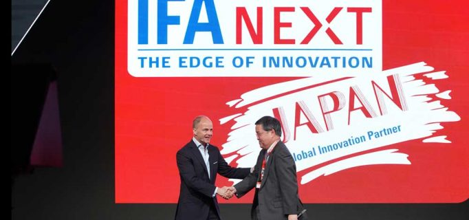 Ein weiterer Höhepunkt der IFA GPC, Japan wird erstes Partnerland der IFA Next. Dort werden Start-Ups des Landes ihre Innovationen zeigen – Foto: Messe Berlin